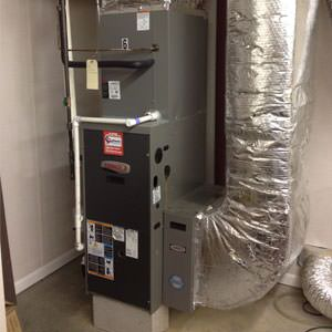 gas heating in Central VA