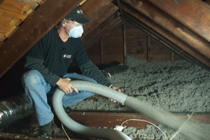 Cellulose Insulation Installation In Central VA