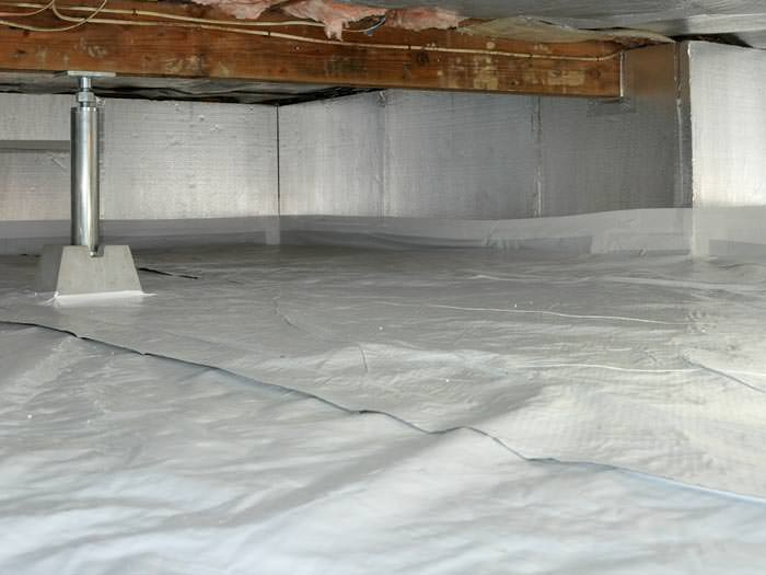 Crawl space sealing crawl space insulation contractor serving a sealed insulated and structurally repaired keswick crawl space tyukafo