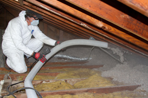 Blown-in Insulation in Earlysville