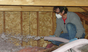 Fiberglass insulation installed Virginia